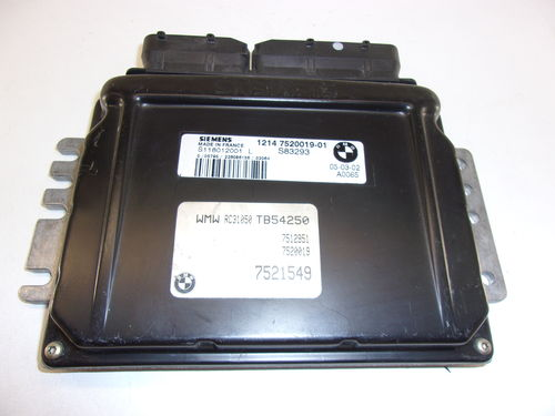CALCULATEUR MOTEUR BMW / MINI  REF: S118012001L