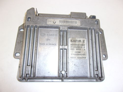 CALCULATEUR MOTEUR SAFIR 2 REF: 8200033337