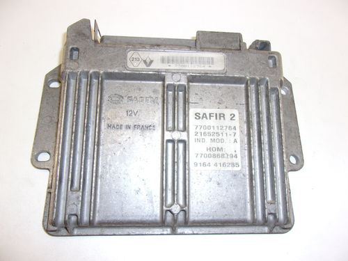 CALCULATEUR MOTEUR SAFIR 2 REF: 7700112764