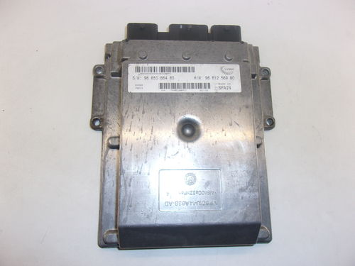 CALCULATEUR MOTEUR PEUGEOT / CITROEN / FIAT REF: 9665066480 / 9661256980
