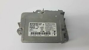 CALCULATEUR AIRBAG RENAULT REF: 0285001958/8200645158