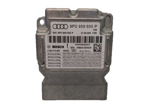 CALCULATEUR AIRBAG AUDI A3 REF:8P0959655S / 0285010917